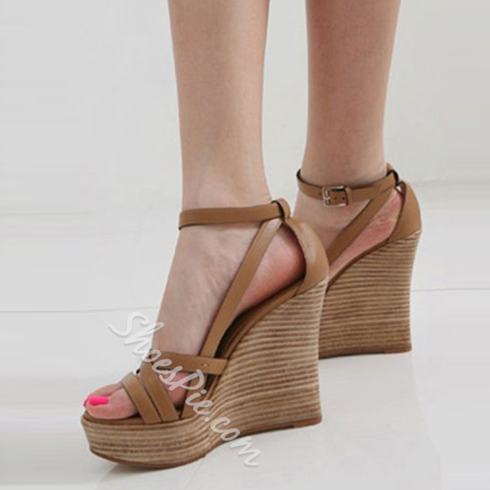 Shoespie New Arrival Wedge Sandals
