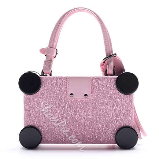 Shoespie Future Style Box Shape Handbag
