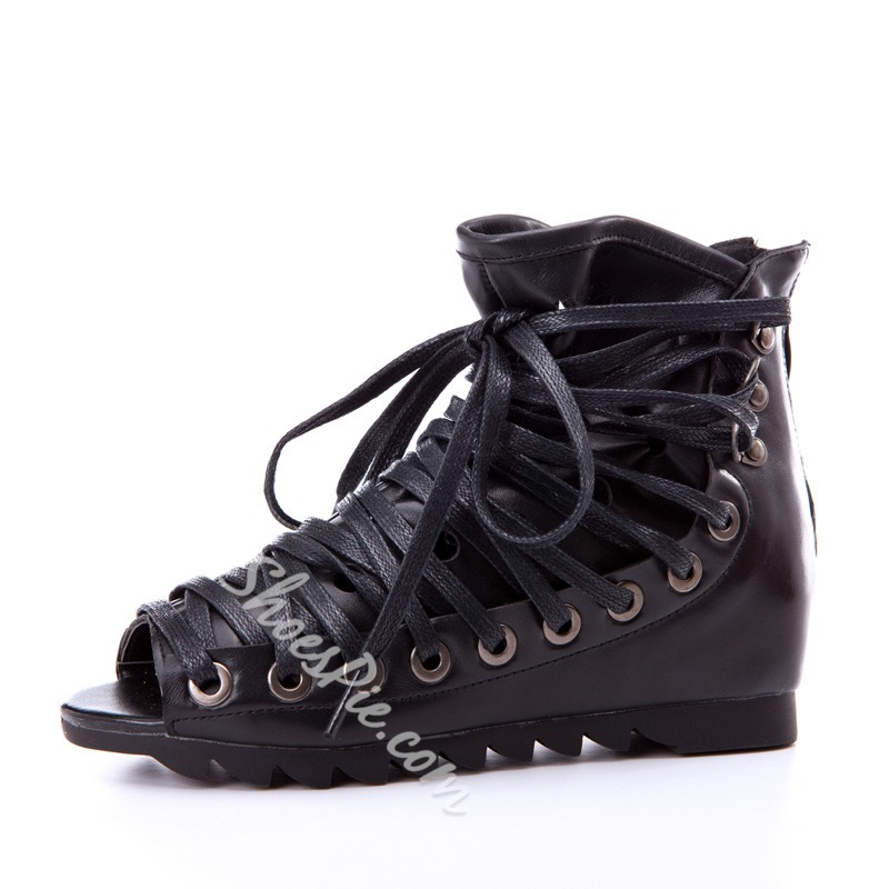 Shoespie New Arrival Lace Up Gladiator Sandals