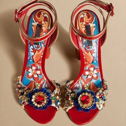 Shoespie Exotic Dress Sandals