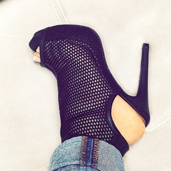 Shoespie Designer Caged Stiletto Heels