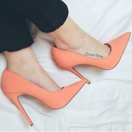 Shoespie Elegant Smart OL Solid Color Stiletto Heels