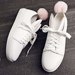 Shoespie Cute Bunny Sneakers