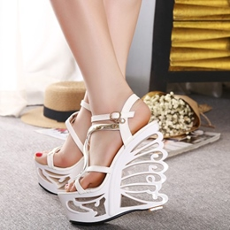 Shoespie New Arrival Hollow Heel Wedge Sandals