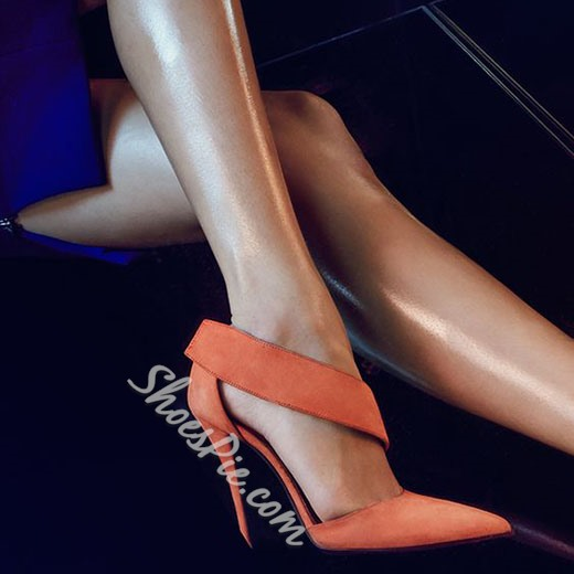 Shoespie Classy Solid Color Pointed Toe Stiletto Heels