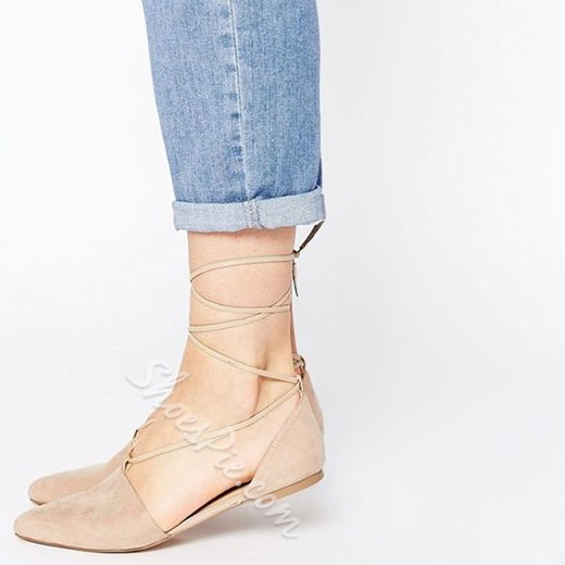 Shoespie Summer Easy Feeling Lace Up Loafers