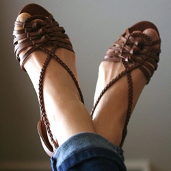 Shoespie Vintage Flat Casual Sandals