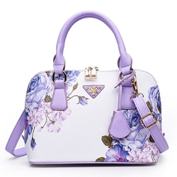 Shoespie Folk Blue & White Porcelain Pattern Women's Handbag