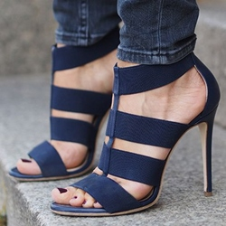 Shoespie Blue Dress Sandals