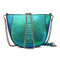 Shoespie Laser Color Chain Bag