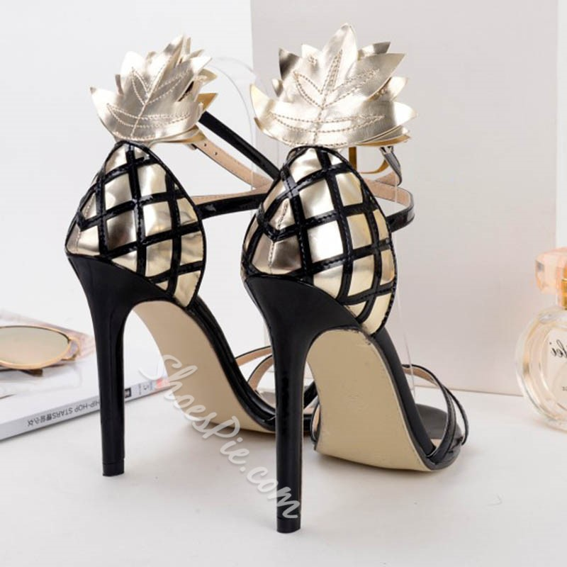 Shoespie Pineapple Dress Sandals