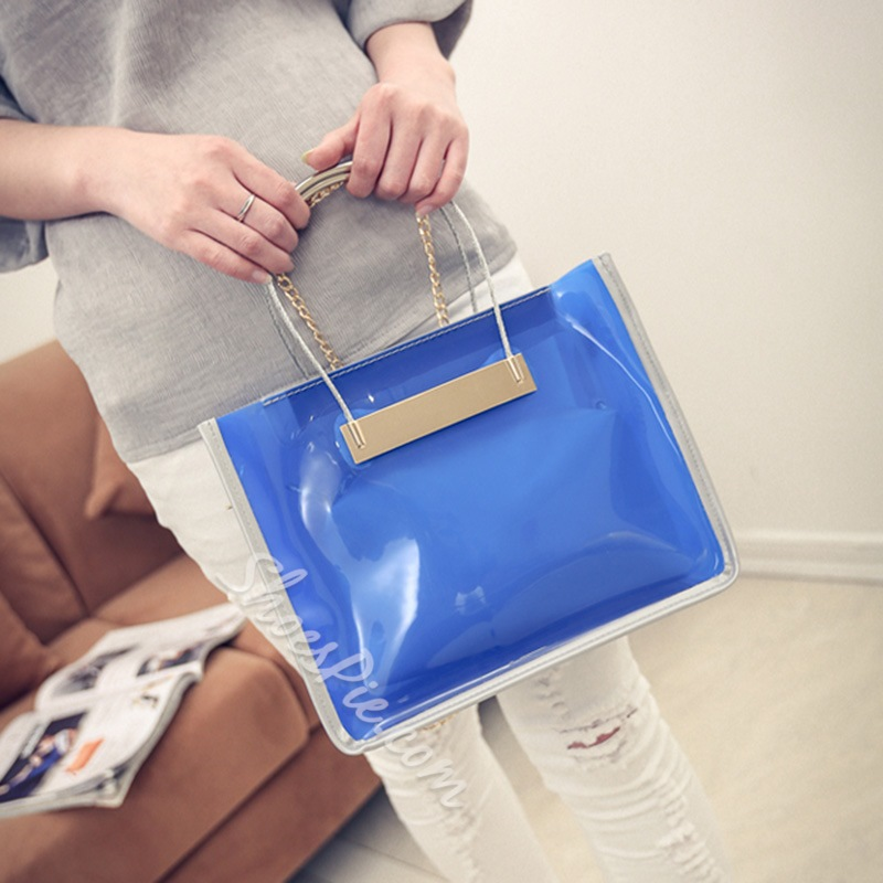 Shoespie Laser Color PVC Bag