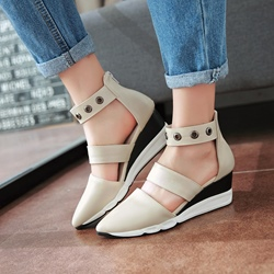 Shoespie Sporty Style Wedge Loafers