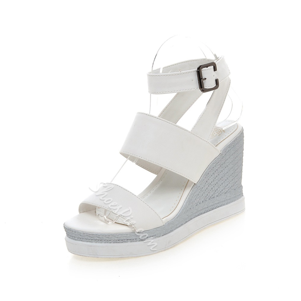 Shoespie Multi Color Wedge Sandals