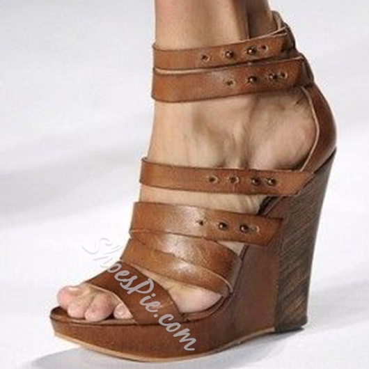Shoespie Super Cool Wedge Sandals