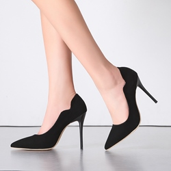 Shoespie Curve Shape Stiletto Heels