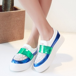 Sheospie Color Block Sneakers
