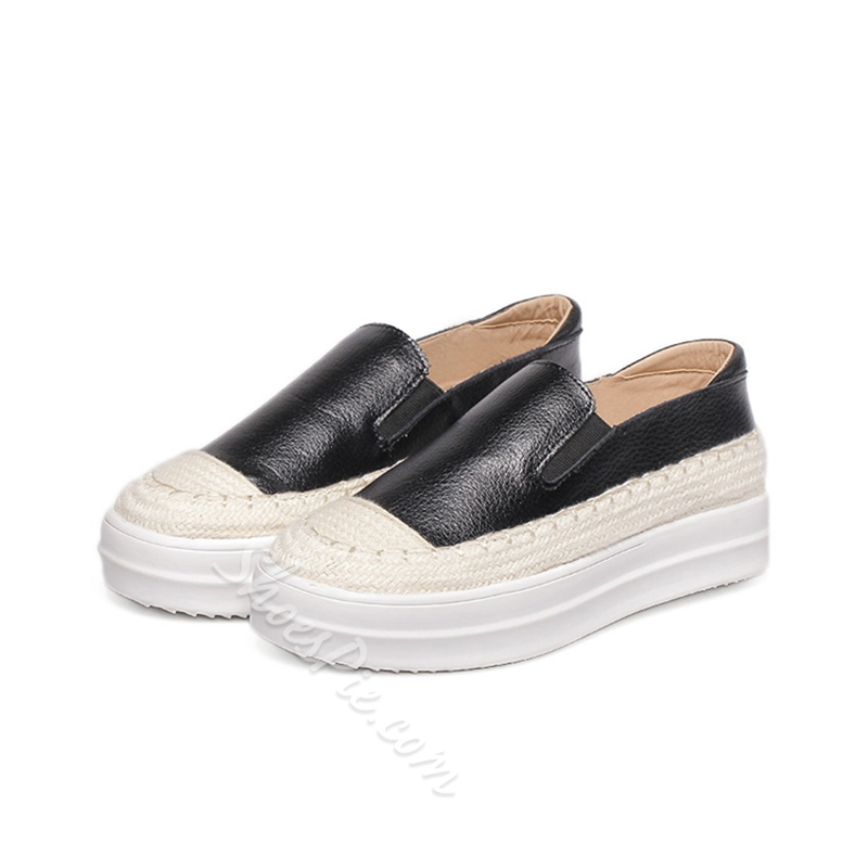 Shoespie Rattan Grass Sneakers