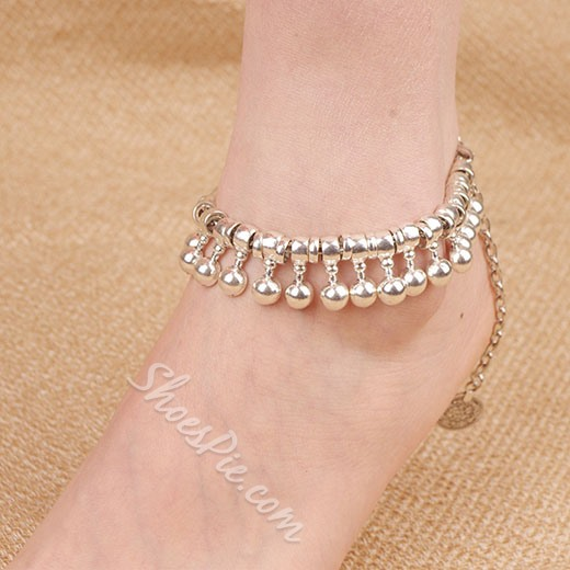 Shoespie Electroplated Exotic Style Anklet (Single)