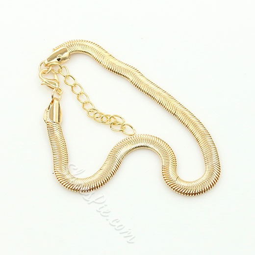 Shoespie Electroplated Snake Chain Anklet