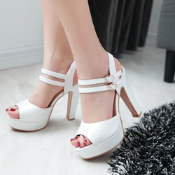 Shoespie Multi Color Platform Sandals