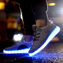 Shoespie Multi Color Luminous Outsole Men's Sneakers