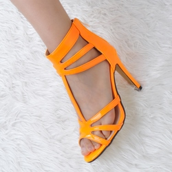 Shoespie Orange Sandals