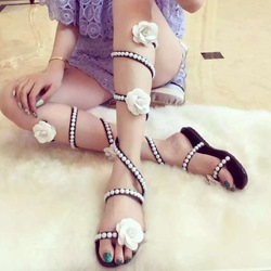Shoespie Camelia Flat Sandals