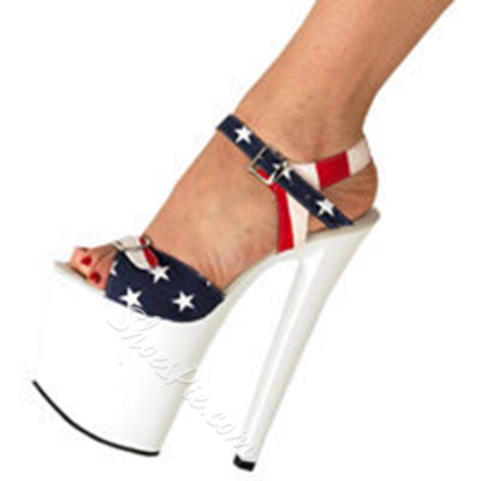 Shoespie Super High Flag Stars Sandals