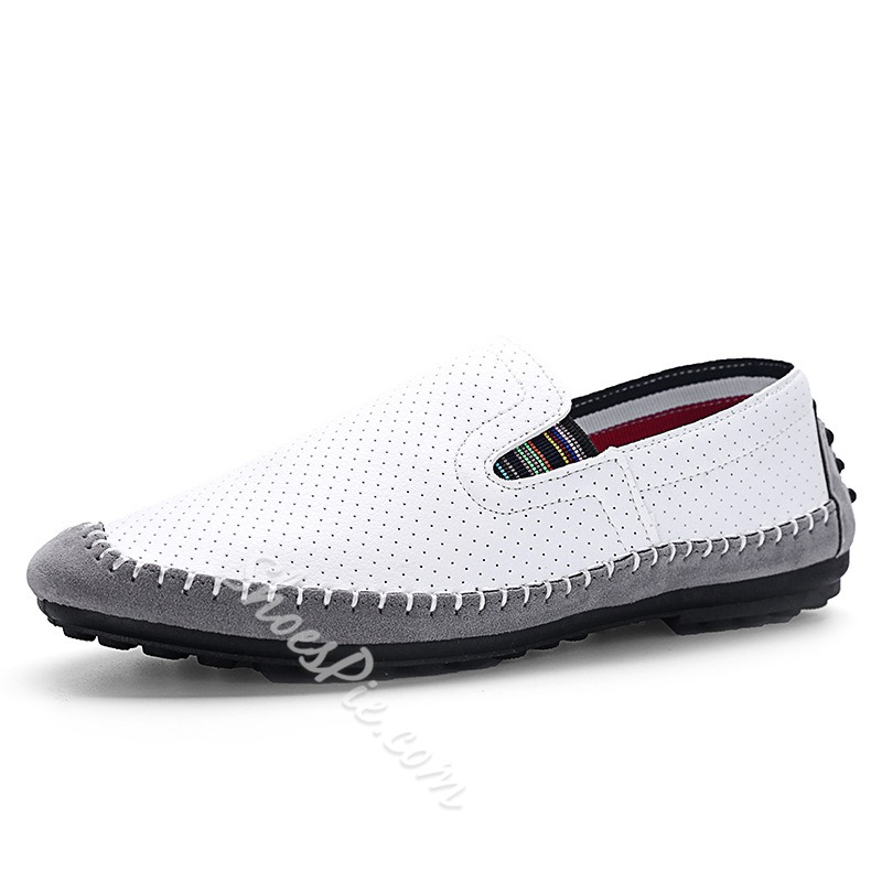 Shoespie Breathable Threading Men's Casual Shoes