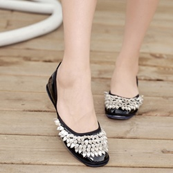 Shoespie Glittering Easy Feeling Loafers