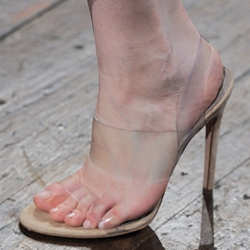 Shoespie Transparent Strap Sandals