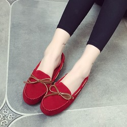 Shoespie Red Knot Loafers