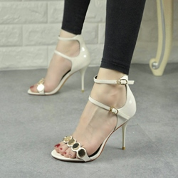 Shoespie Metal Dress Sandals