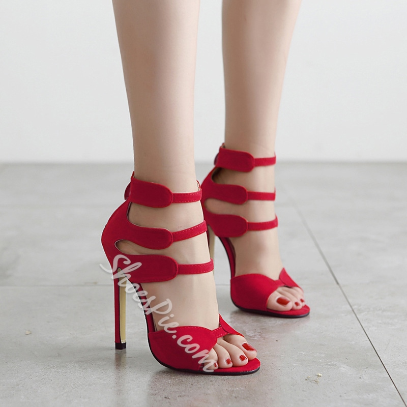 Shoespie Cut Out Simply Sandals