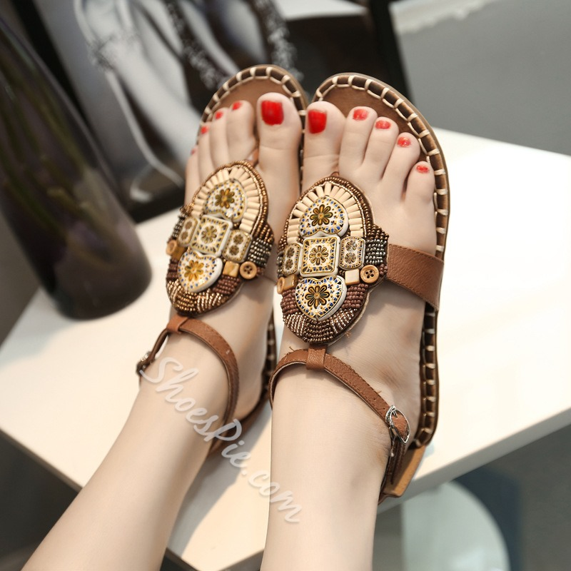 Shoespie New Arrival Flat Sandals