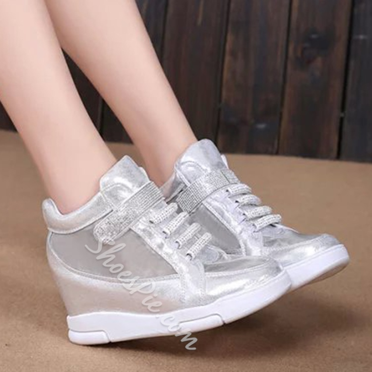 Shoespie Mesh and Velcro Sneakers