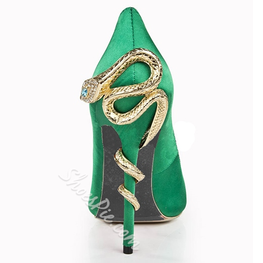 Fashion Pointed toe Large Size Unique Stilletto Heels