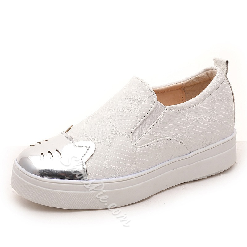 Shoespie Cute Patchwork Sneakers