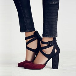 Shoespie Delicate Cross Strap Heels