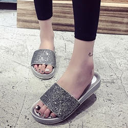 Shoespie Fashion Glittering Slippers
