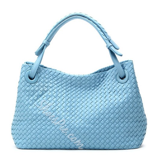 Shoespie Yellow Weave Straw Bag