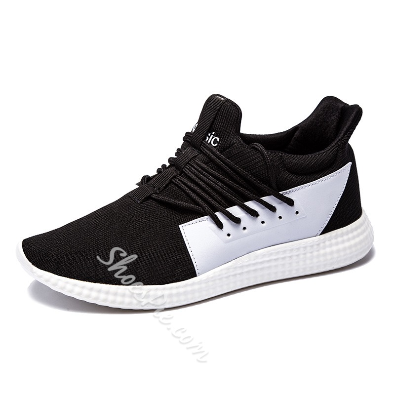 Shoespie Color Block Men's Sneakers
