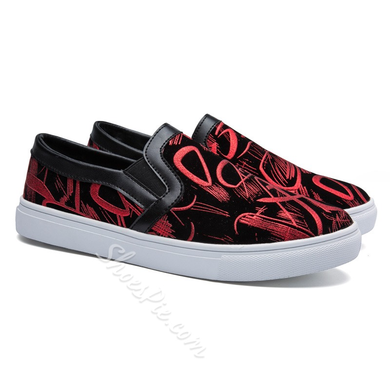 Shoespie Unique Paint Men's Sneakers