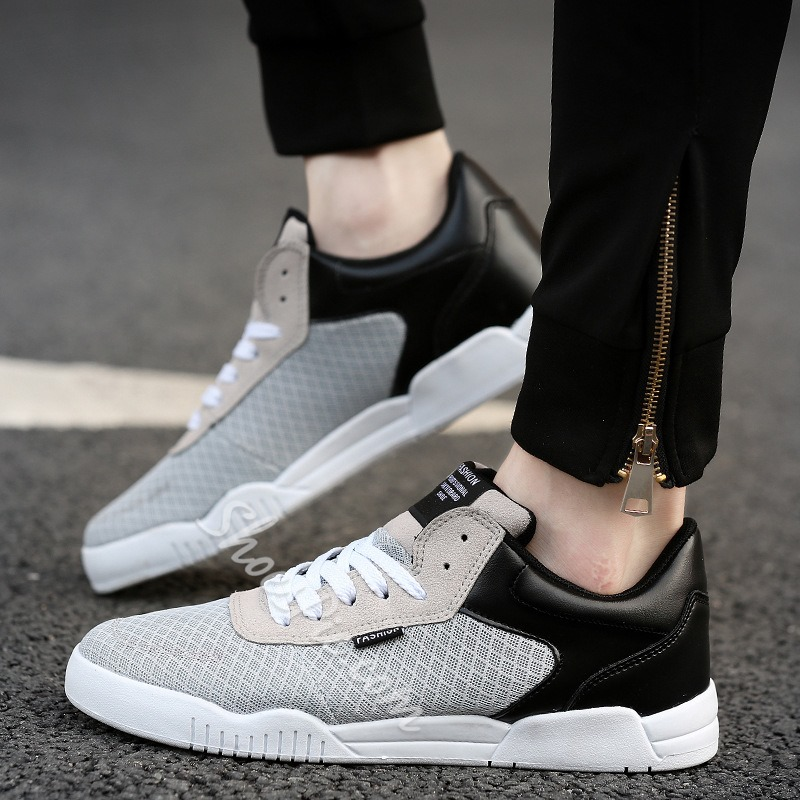 Shoespie Mesh Patchwork Men's Sneakers