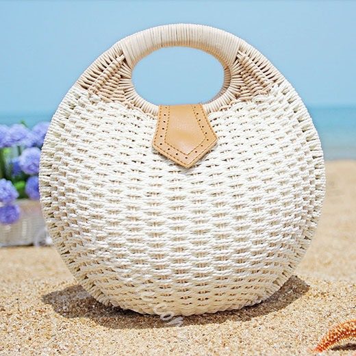 Shoespie Mini Beach Straw Bag