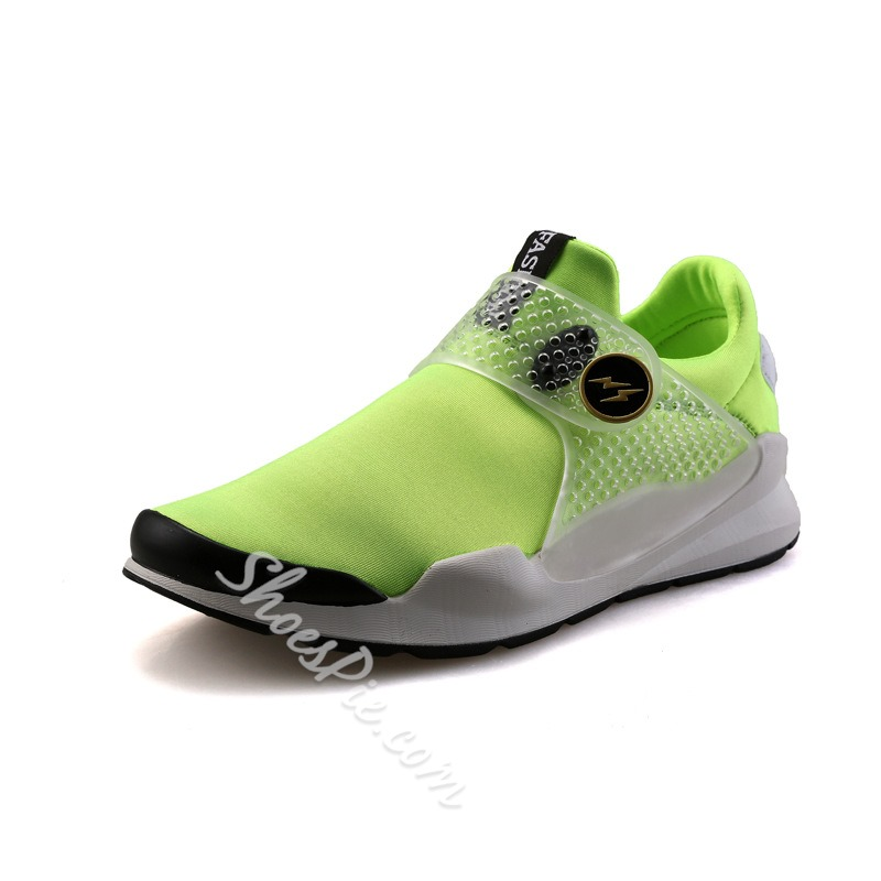 Shoespie Summer PVC Round Toe Men Sneakers