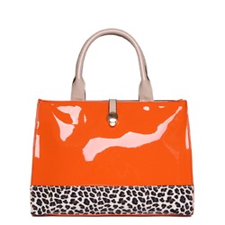 Shoespie Passionate Orange Tote