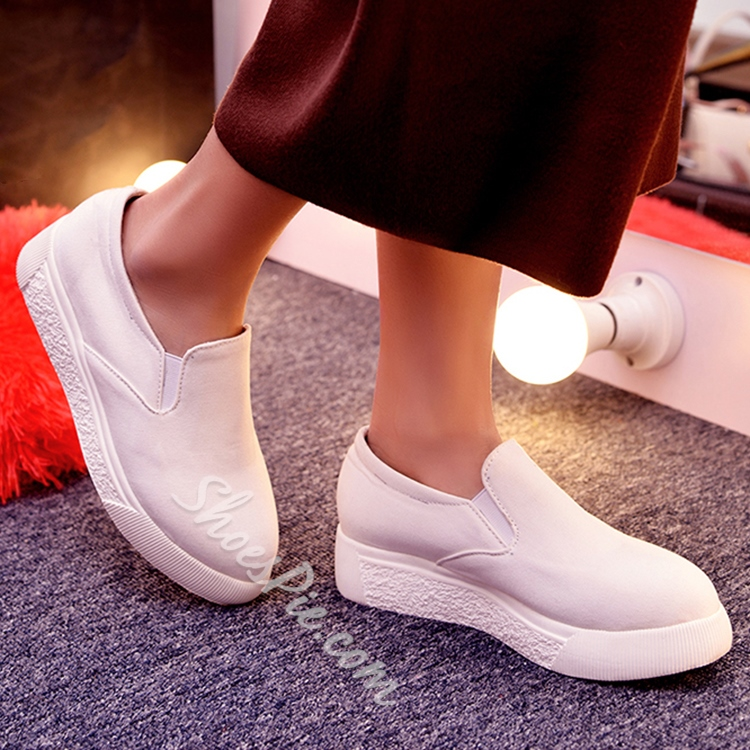 Shoespie Summer Easy Solid Color Sneakers