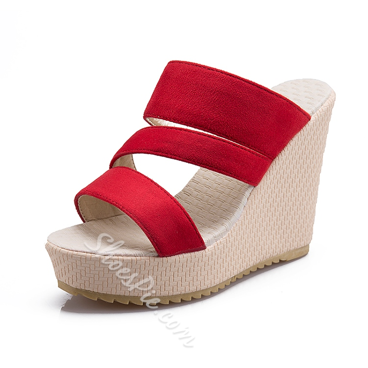 Open Toe Wedge Shoes Shoespie